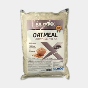 Harina Avena Oatmeal 1kgrs sabor Neutro Kilmaxx-Nutrition | Suplementos deportivos de calidad a precios directos del fabricante