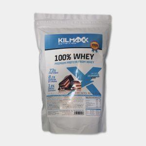Proteina 100% Whey 907grs Doble Chocolate kilmaxx Nutrition | Suplementos deportivos de calidad a precios directos del fabricante