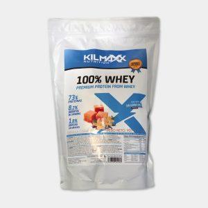 Proteina 100% Whey 907grs Vainilla Caramelo Kilmaxx Nutrition | Suplementos deportivos de calidad a precios directos del fabricante