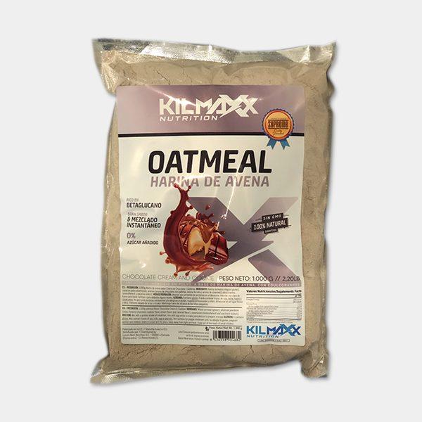 Harina Avena Oatmeal 1kgrs sabor Choco Crem & Cookie Kilmaxx Nutrition | Suplementos deportivos de calidad a precios directos del fabricante